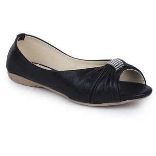 Do Bhai Women's Black Bellies