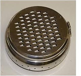 2 In 1 Stainless Steel Grater With Storage Dabba