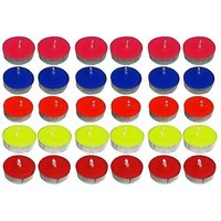 Pack Of 50 Colour Tealight Tea Light Candles For Diwali