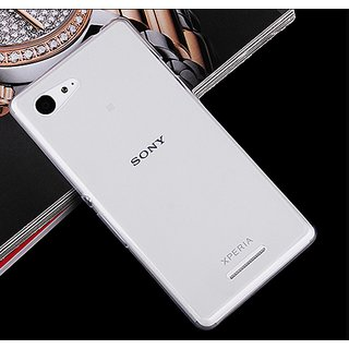 best cheap f32bb 014d7 Sony Xperia E3 Dual Transparent Back Cover - Perfect Fit Easy Accessibility