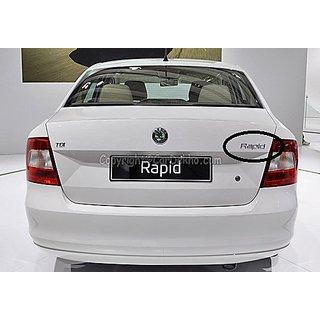 Buy Skoda Rapid Monogram Emblem Chrome Emblem Skoda Car Monogram