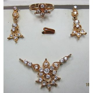 American Diamond Pendant Sets Special Offer