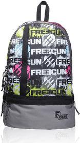 F Gear Burner 20 Liters P1 Grey Casual Backpack Bag