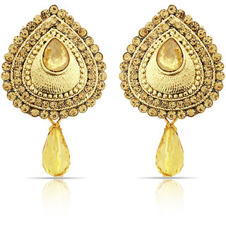 Beautiful Golden Earrings ER-1359