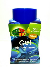 Air show Air Freshners Gel Ocean 135gm for Home,Car ,Bathroom etc