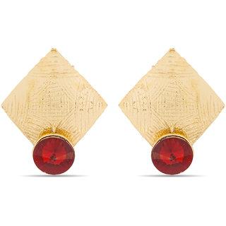 Red Gold Plated Designer Earrings ER-1392