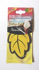Hanging Air freshners Vanilla Decorative