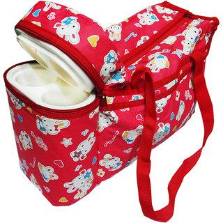 Wonderkids Bunny Print with Warmer Nursery Bag (Multicolor)