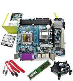 Zebronics Motherboard Kit With 2.8Ghz Core2Duo CPU, 1GB DDR2 RAM , Intel CPU Fan
