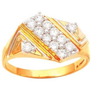 Elegant Diamond Gents Ring