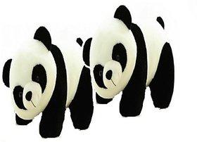 A LATA'S CUTE PANDA SET OF 2 PANDA 27CM EACH