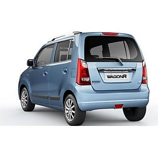 Buy Maruti Suzuki Wagon R Car Body Cover In Silver Matty Cloth