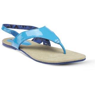 Vendoz Elegant Blue Flats