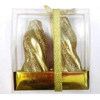 CANDLE GIFT SET - 2 GOLDEN PILLAR CANDLES