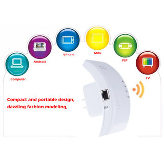 Wireless Wifi 802.11N Repeater Router Range Expander Signal Booster 300Mbps