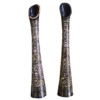 Brass Decorative Stand(Black)