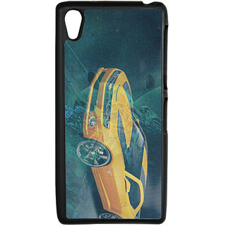 Mobile Back Cover ZT13115 Multicolor 3D Rubberised Soft Mobile Back Case for Sony Xperia Z2