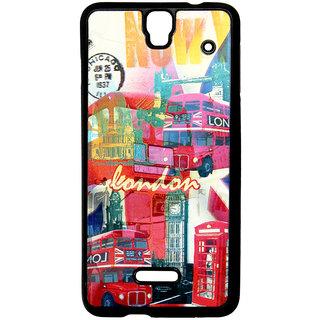 competitive price 3b042 0e4d6 Mobile Back Cover ZT13056 Multicolor 3D Rubberised Soft Mobile Back Case  for Micromax Canvas HD Plus A190