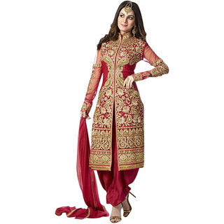 Minal fashion semi-stiched salwar-suit dress materials