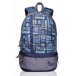 F Gear Burner 20 Liters P10 Sky Blue Casual Backpack