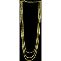 Zaveri Pearls Traditional Three Layered Necklace -ZPFK3974