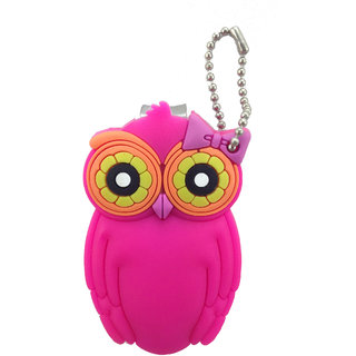 OWL Nail clipper with silicone covered. Pink