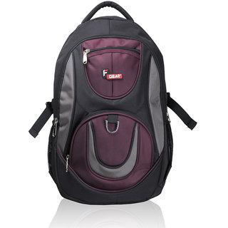 F Gear Axe Black Wine Backpack