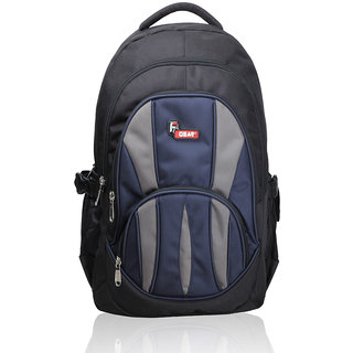 F Gear Adios Black Blue Backpack Bag