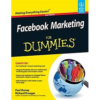 Facebook Marketing For Dummies EBOOK