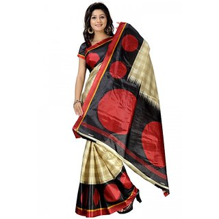 Florence Traditional Multi Faux Georgette Printed Saree (FL-3051)
