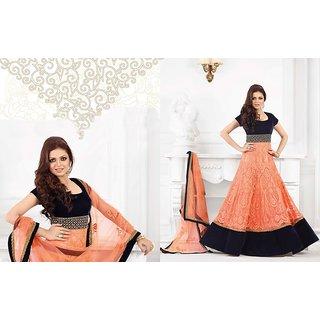 cb39e5854b Online All Factory Outlet Exclusive Designer Anarkali Semi Stitch ...