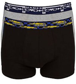 Hanes Mens Pack of 2 Graffitease Fashion Trunk.