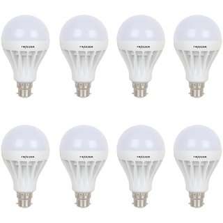 Frazzer 7 W Led Bulb Natural White Pack of 6 and get 2 Led Bulb Free