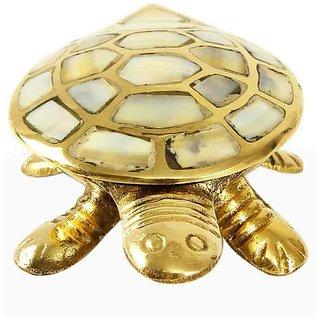 Shakti Feng Shui Brass Seap Tortoise