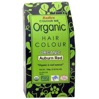 Radico Colour Me Organic Auburn Red Hair Colour - 100g