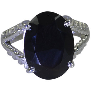 Riyo A Black Onyx 925 Solid Sterling Silver Floral Ring Srbon65-6043
