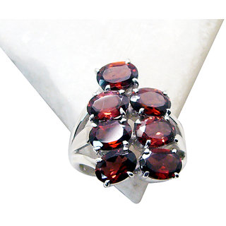 Riyo Garnet Best Silver Jewelry Engagement Ring Sz 6 Srgar6-26116