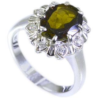 Riyo Tourmaline 92.5 Silver Silver Toe Ring Jewelry Sz 6 Srtou6-84038