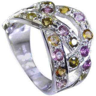 Riyo Tourmaline Silver Jewellery  Ring Sz 7.5 Srtou7.5-84123