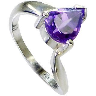 Riyo Amethyst Wholesale Silver Jewelry Cocktail Ring Sz 6.5 Srame6.5-2158