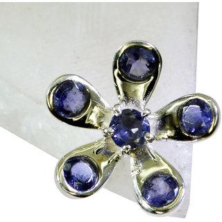 Riyo Iolite Silver And Stone Jewelry Claddagh Ring Sz 8 Sriol8-38030