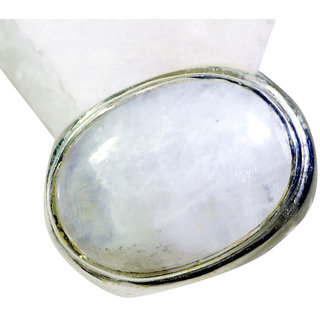 Riyo Rainbow  Silver Jewelry Supplies Aqiq Ring Sz 6 Srrmo6-64003