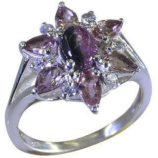 Riyo  Tourmaline 925 Solid Sterling Silver Comfortable Ring Srtou70-84140