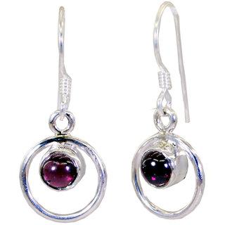 Riyo Garnet Silver Jewelry Findings Wholesale Gems L 1in Segar-26014