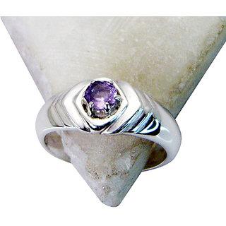 Riyo Amethyst Victorian Silver Jewelry Silver Wrap Ring Sz 6 Srame6-2072