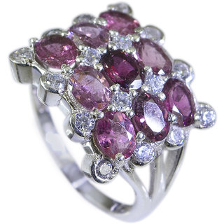 Riyo Tourmaline Branded Silver Jewellery Sports Ring Sz 7 Srtou7-84075