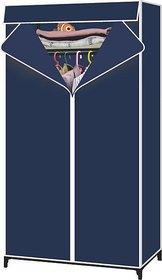 Single Door Foldable Storage Wardrobe Cupboard Almirah-II