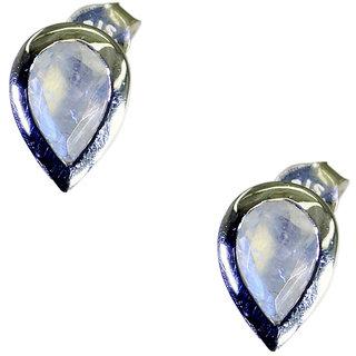 Riyo Rainbow  Handmade Silver Valentine Earring L 0.5in Sermo-64056