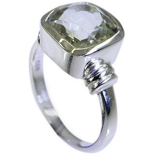 Riyo Green Amethyst Silver Jewelry Discount  Ring Sz 7 Srgam7-28026