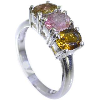 Riyo Tourmaline Custom Silver Jewellery Regards Ring Jewelry Sz 7 Srtou7-84109